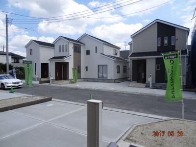 【外観】蓮田市椿山1丁目 オール電化新築分譲住宅全9棟・残3棟