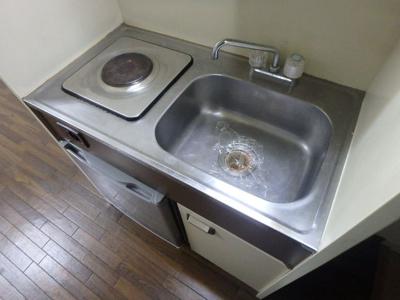 【キッチン】インテリジェントマンション・エソール