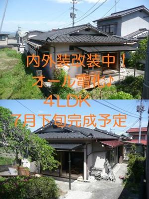 【外観】高瀬リノベーション住宅