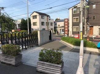 東京都世田谷区若林4丁目新築戸建 2号棟 松陰神社です。物件から歩いてすぐにあります。