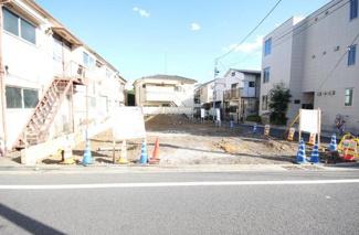 東京都世田谷区羽根木1丁目新築戸建 3号棟 現地写真です。