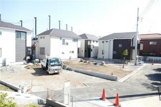 世田谷区鎌田1丁目 新築戸建 A号棟 現在建築中の外観になります。