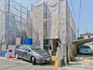 世田谷区粕谷3丁目 新築分譲住宅 外観