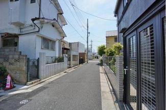 世田谷区桜上水3丁目 新築戸建 前面道路