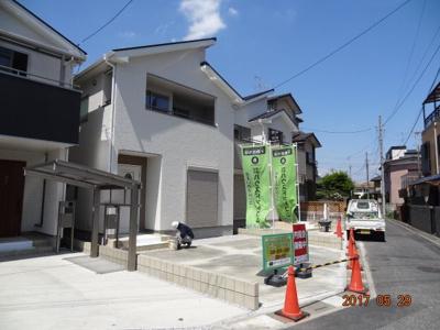 【外観】さいたま市大宮区櫛引町1丁目 新築分譲住宅全5棟・残1棟