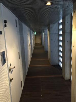 クイズ恵比寿の廊下です。