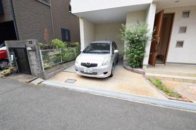 【駐車場】寺田町貸家