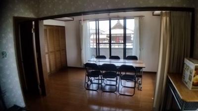 2階事務室、休憩室