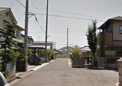 【前面道路含む現地写真】坂出市江尻町売地