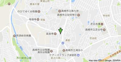【地図】ハイツいりえ