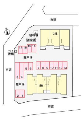 【区画図】プリマヴェーラⅠ