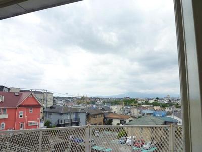 高台につき眺望・通風良好!条件が合えば富士山も見えます!