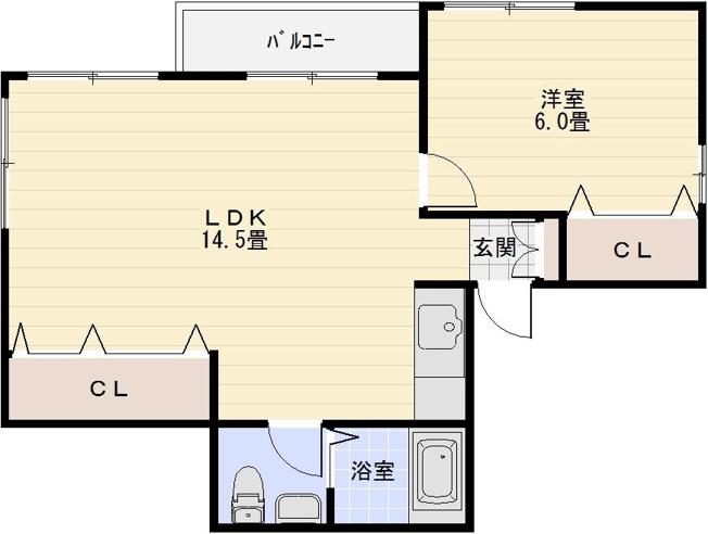 レヴィ八尾南 1LDk 八尾南駅 藤井寺駅 長原駅