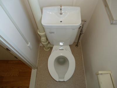 【トイレ】有野団地B-04号棟