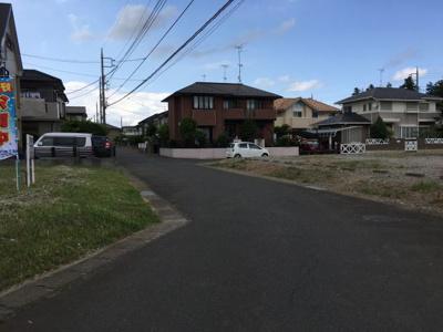 【前面道路含む現地写真】龍ヶ崎市久保台