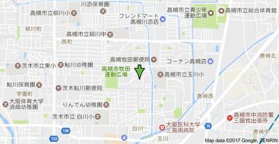 【地図】富田第二住宅64号棟 (株)Roots