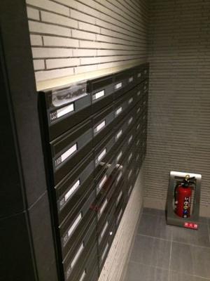 ガリシアレジデンス広尾のメールBOXです。