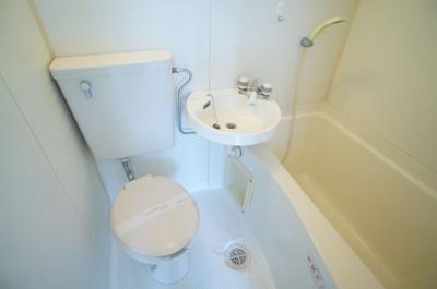 【浴室】ハピネス平野