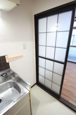 ハイツ大峰 冷蔵庫設置スペース