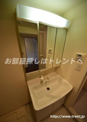 【独立洗面台】ブルーガーデン小石川