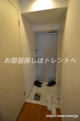 【玄関】パレコート新宿
