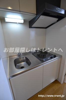【キッチン】パレコート新宿