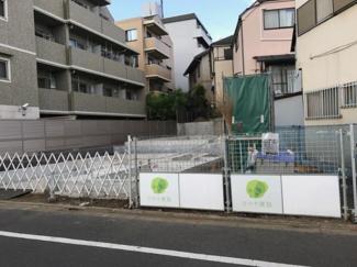 東京都大田区南久が原2丁目新築戸建 B号棟 現地の写真です。只今建築中となります。