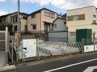 東京都大田区南久が原2丁目新築戸建 B号棟 内覧等は行っておりません。現地の見学は可能です。完成予定は2017年9月を予定しています。