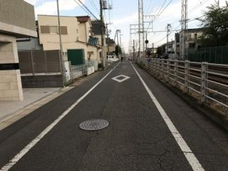 東京都大田区南久が原2丁目新築戸建 B号棟 見通しがよく交通量も少ないので、小さなお子様がいても安心してお住まいいただけます。