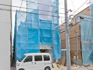 大田区仲池上2丁目の新築戸建 外観