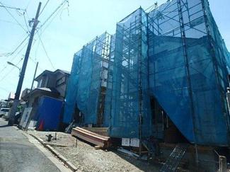 大田区上池台3丁目 新築戸建 1号棟 現地