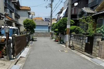 【前面道路含む現地写真】堺市中区深井中町 一戸建