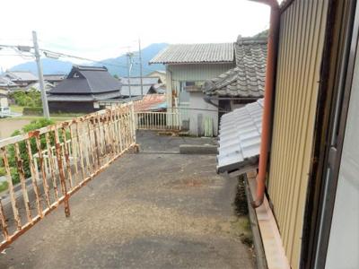 【バルコニー】氷上町香良中古住宅