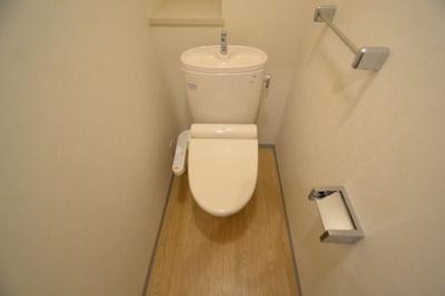 【トイレ】フォーシーズンアパートメント