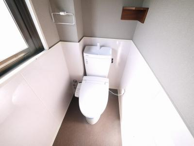 【トイレ】藤本ビル(窪之庄町)