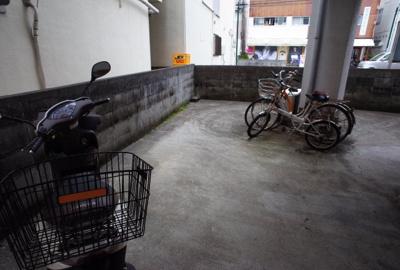 【駐車場】新田マンション