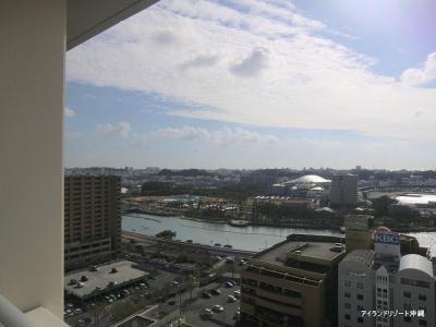 フレスコア旭橋 最上階からの眺望