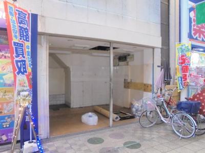 【外観】駒川5丁目貸店舗(北側)