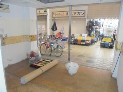 【内装】駒川5丁目貸店舗(北側)