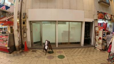 【外観】駒川5丁目貸店舗(南側)