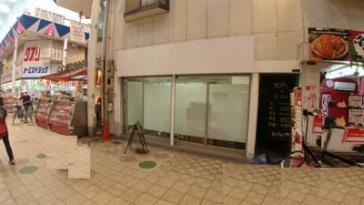 【展望】駒川5丁目貸店舗(南側)