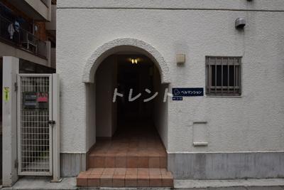 【エントランス】ベルマンション