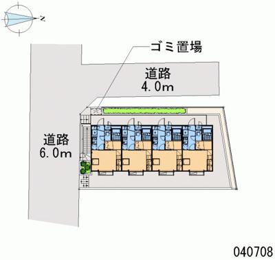 【地図】ネオライフ江古田Ⅱ