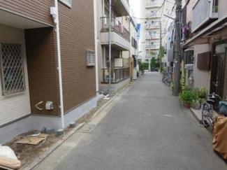 大田区萩中2丁目 新築戸建 【限定1棟】 前面道