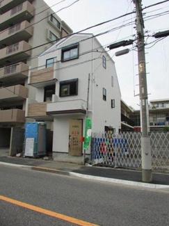 大田区萩中2丁目 新築分譲住宅 全3棟最終1棟 【1号棟】 外観
