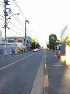 大田区萩中2丁目 新築分譲住宅 全3棟最終1棟 【1号棟】 前面道路