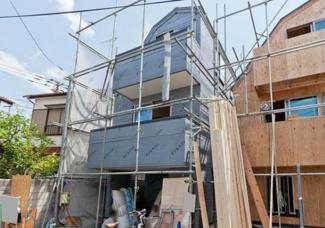 大田区大森南2丁目 新築分譲住宅 全2棟 【A号棟】 外観