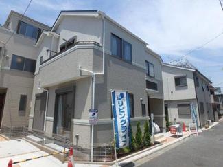大田区大森北六丁目の新築戸建2 現地写真