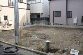 大田区中央3丁目 新築戸建 現地
