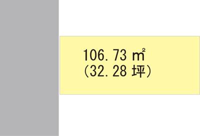 【区画図】【売地】伏虎義務教育学校区・29990